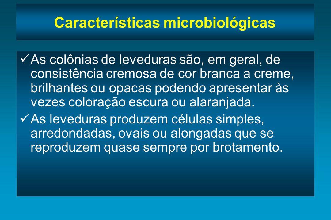 Características microbiológicas