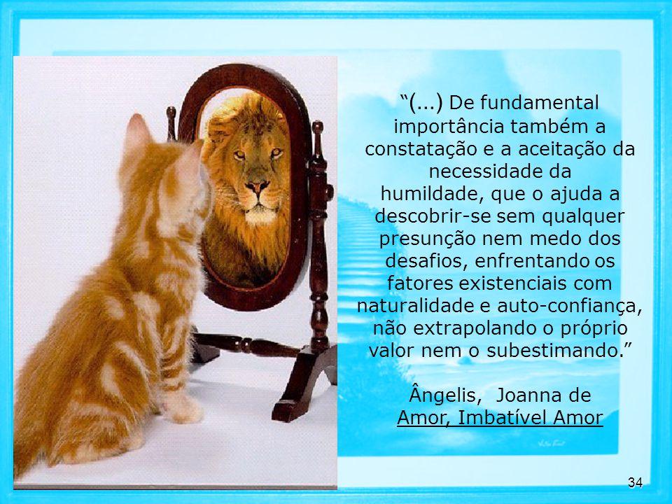 (...) De fundamental importância também a constatação e a aceitação da necessidade da