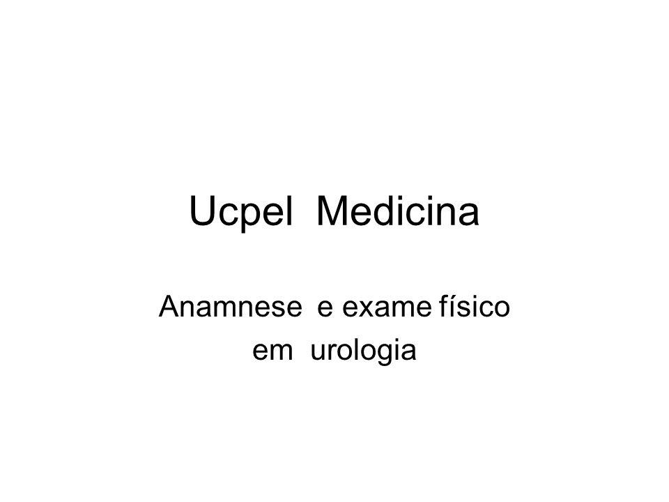 Anamnese e exame físico em urologia