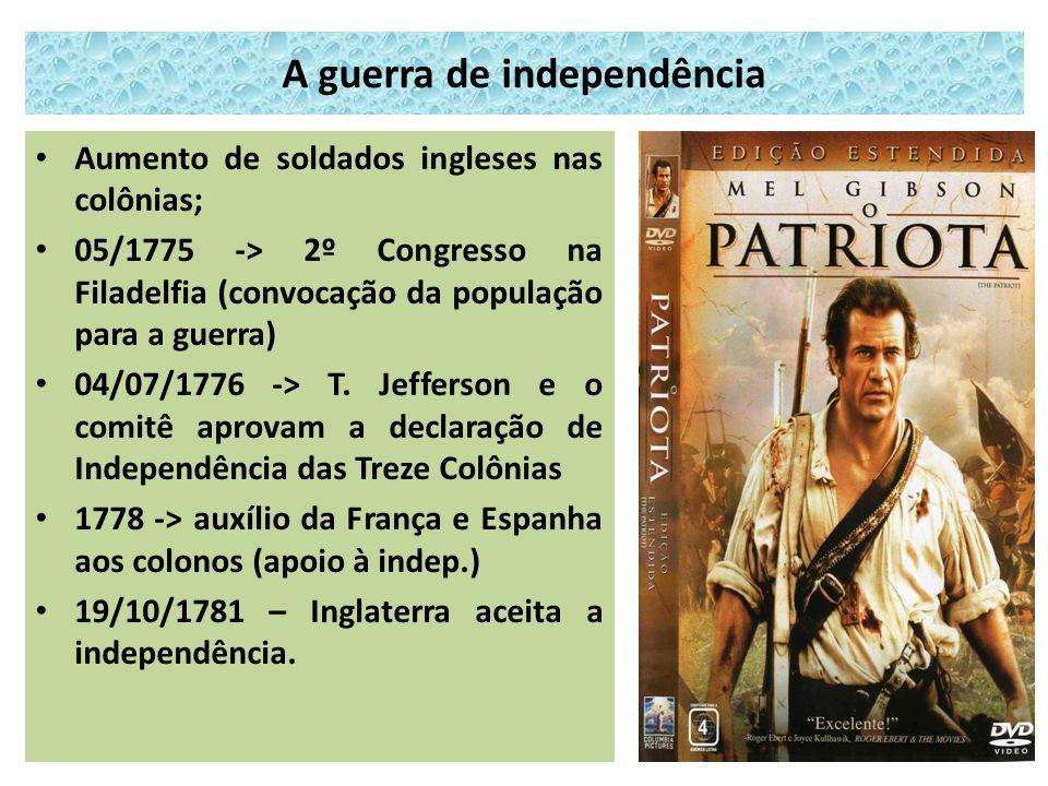A guerra de independência