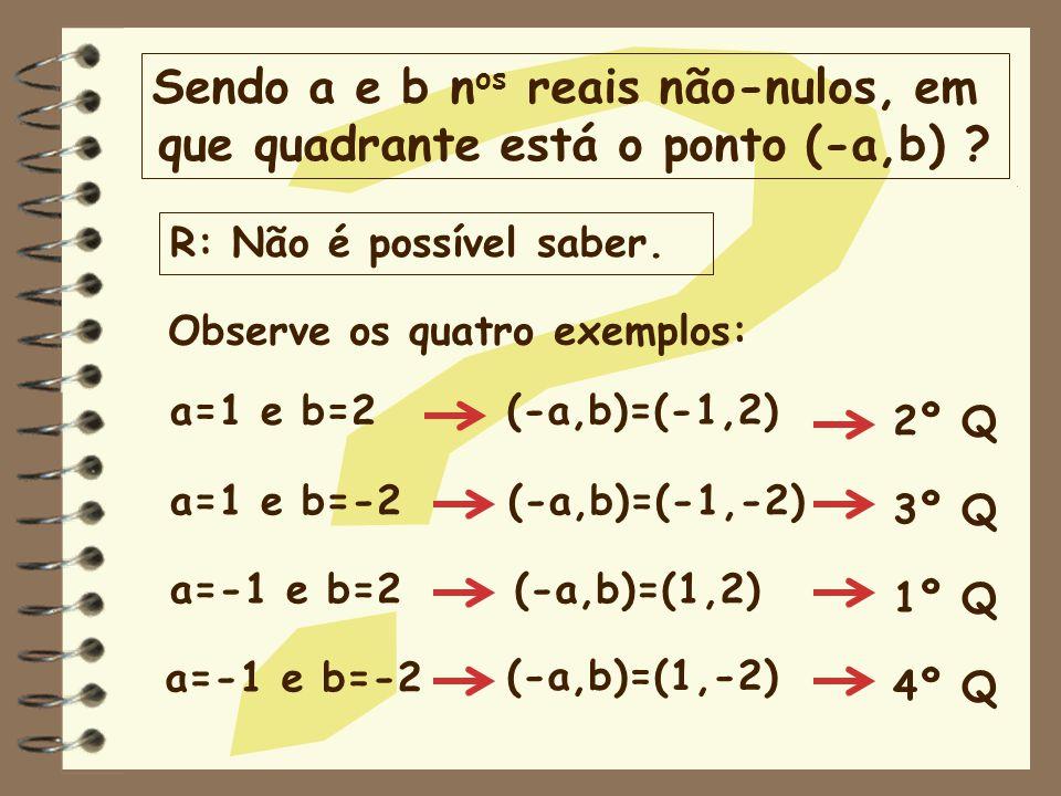 Sendo a e b nos reais não-nulos, em