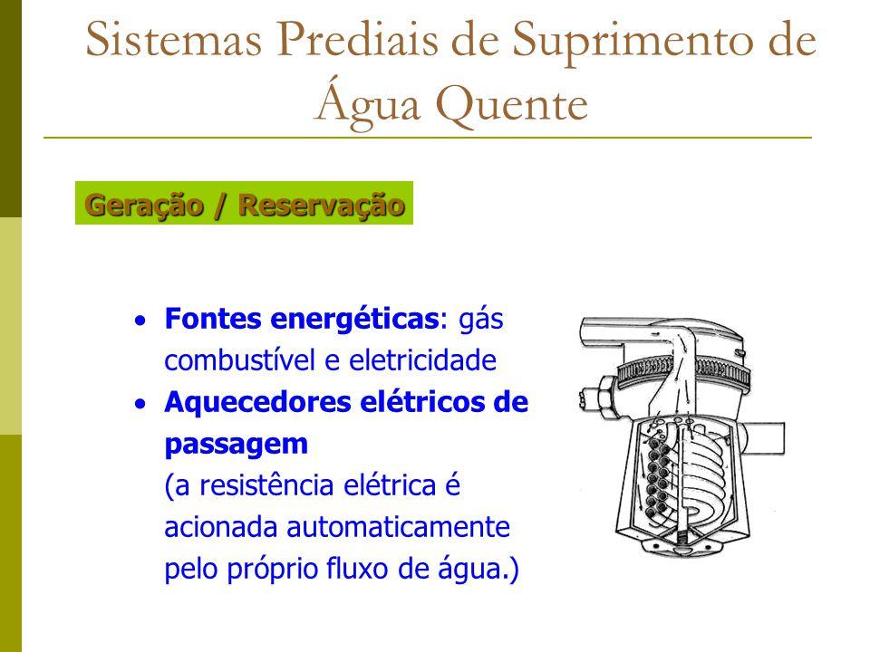Sistemas Prediais de Suprimento de Água Quente