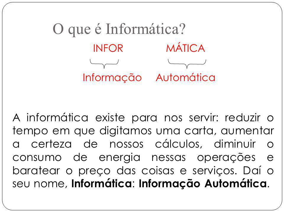 INFOR MÁTICA Informação Automática