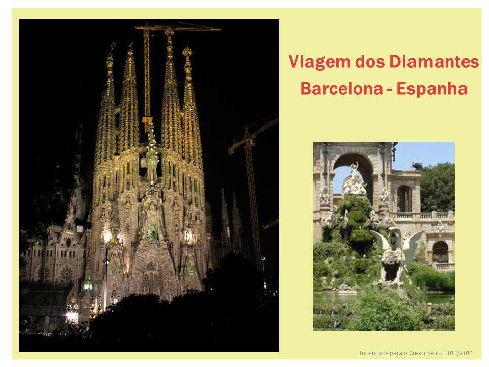 Viagem dos Diamantes Barcelona - Espanha