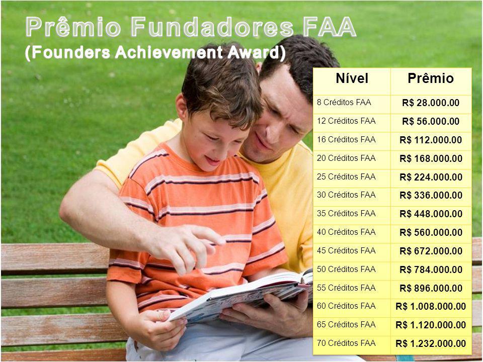 Prêmio Fundadores FAA (Founders Achievement Award) Nível Prêmio
