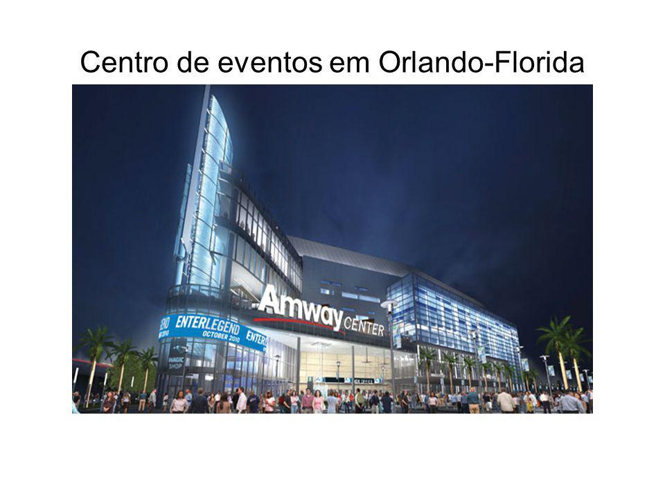Centro de eventos em Orlando-Florida