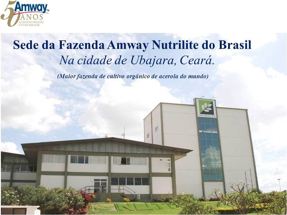 Sede da Fazenda Amway Nutrilite do Brasil Na cidade de Ubajara, Ceará.