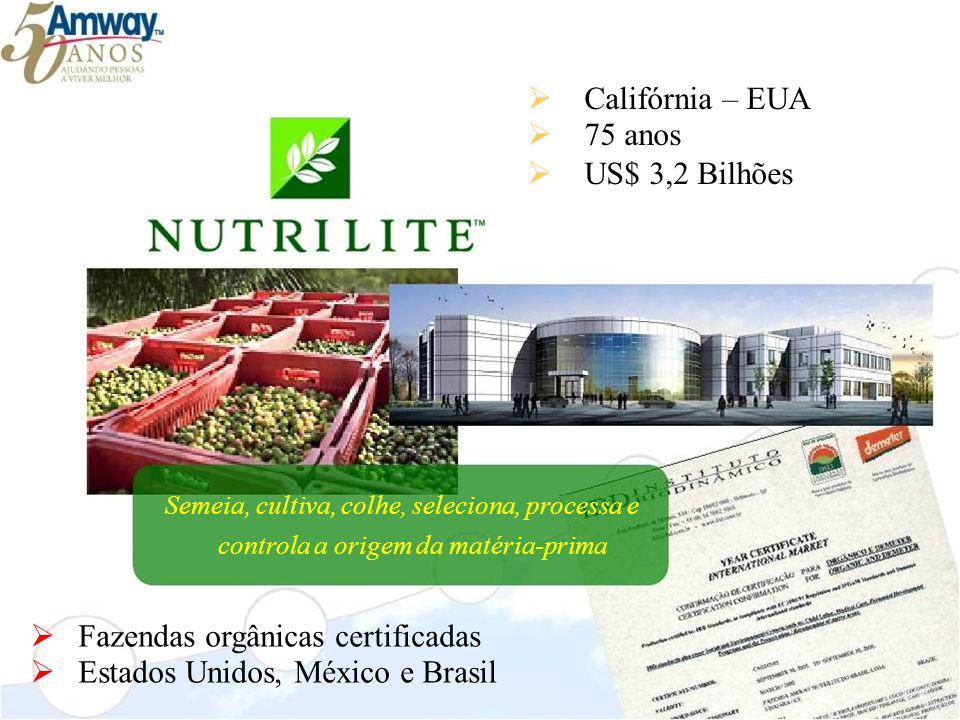 Fazendas orgânicas certificadas Estados Unidos, México e Brasil