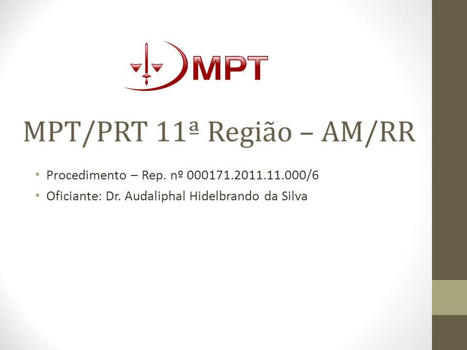 MPT/PRT 11ª Região – AM/RR