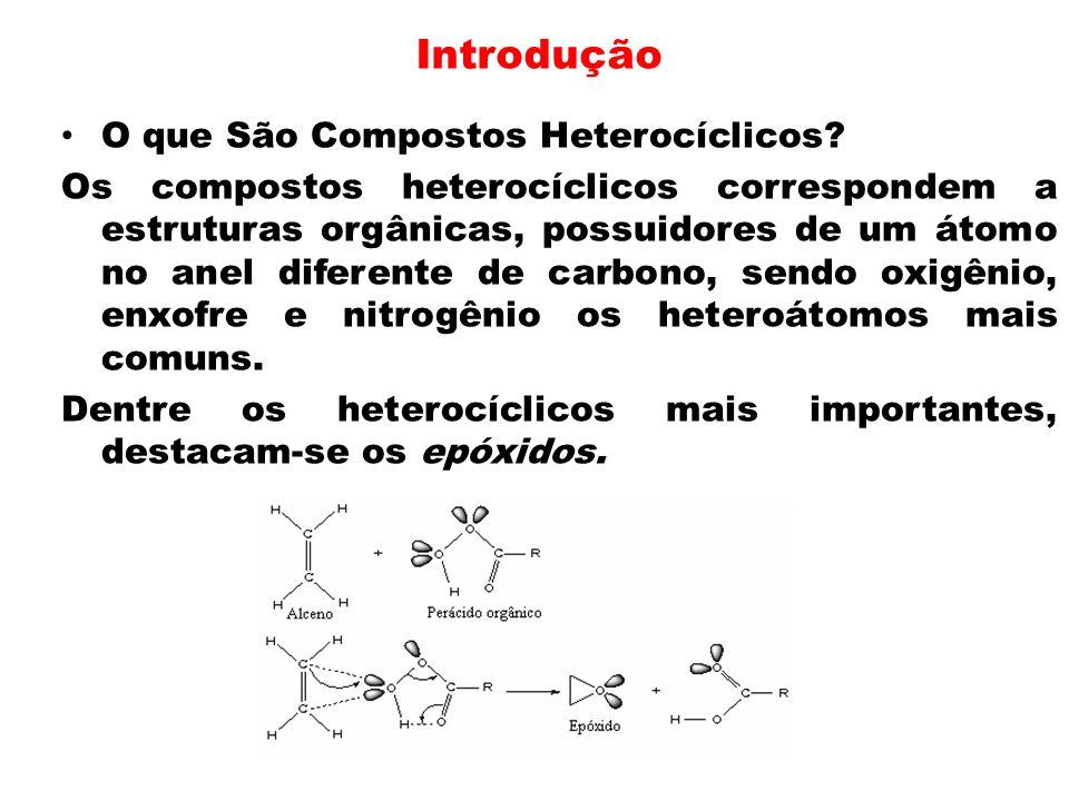 Introdução O que São Compostos Heterocíclicos