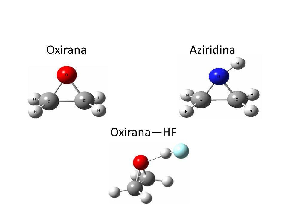 Oxirana Aziridina Oxirana—HF