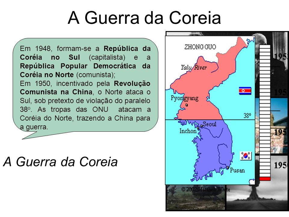 A Guerra da Coreia A Guerra da Coreia