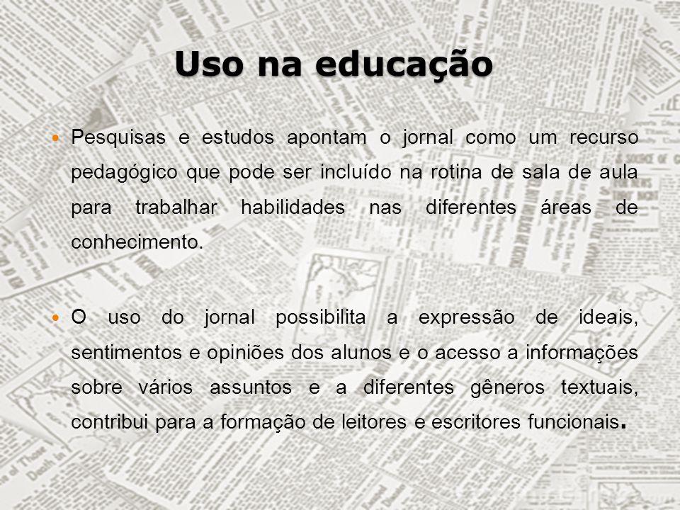 Uso na educação