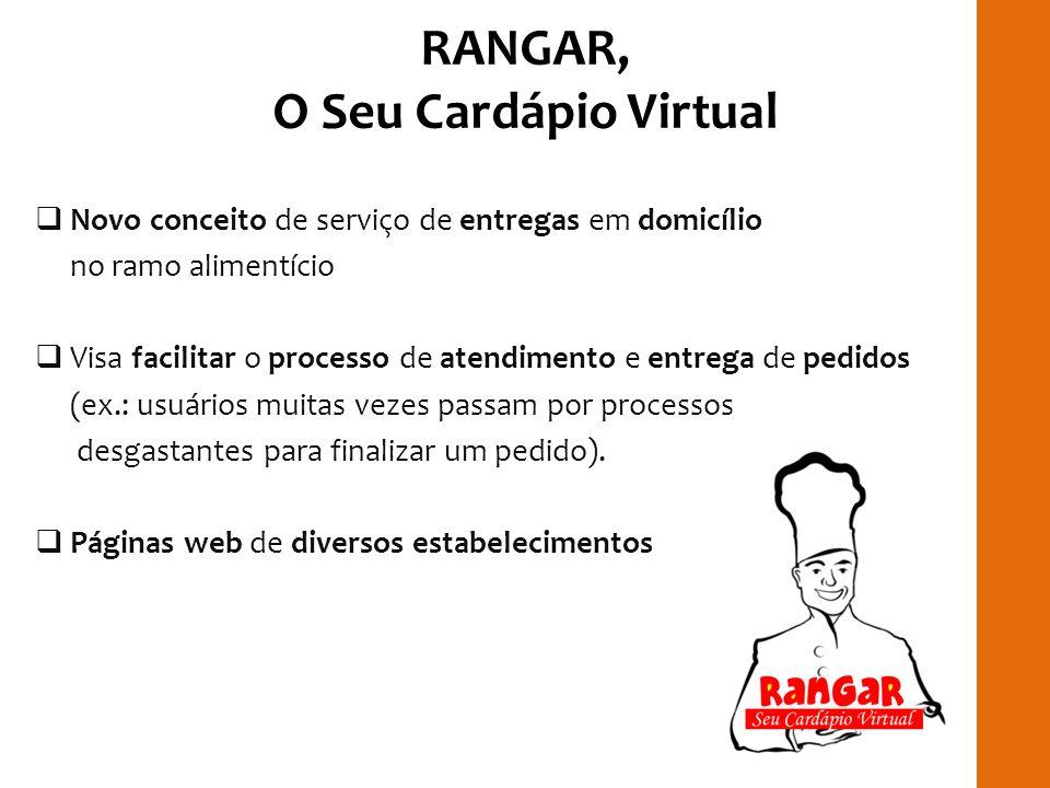 RANGAR, O Seu Cardápio Virtual