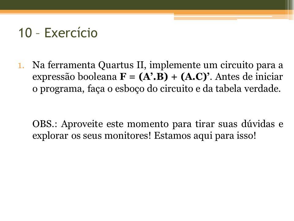 10 – Exercício