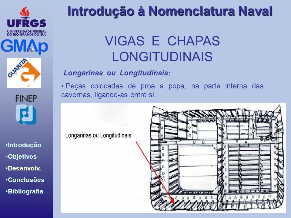 VIGAS E CHAPAS LONGITUDINAIS