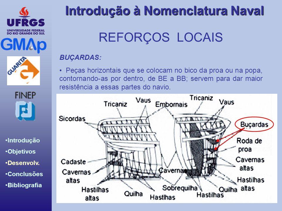 REFORÇOS LOCAIS BUÇARDAS: