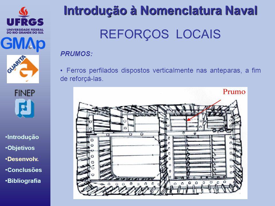 REFORÇOS LOCAIS PRUMOS: