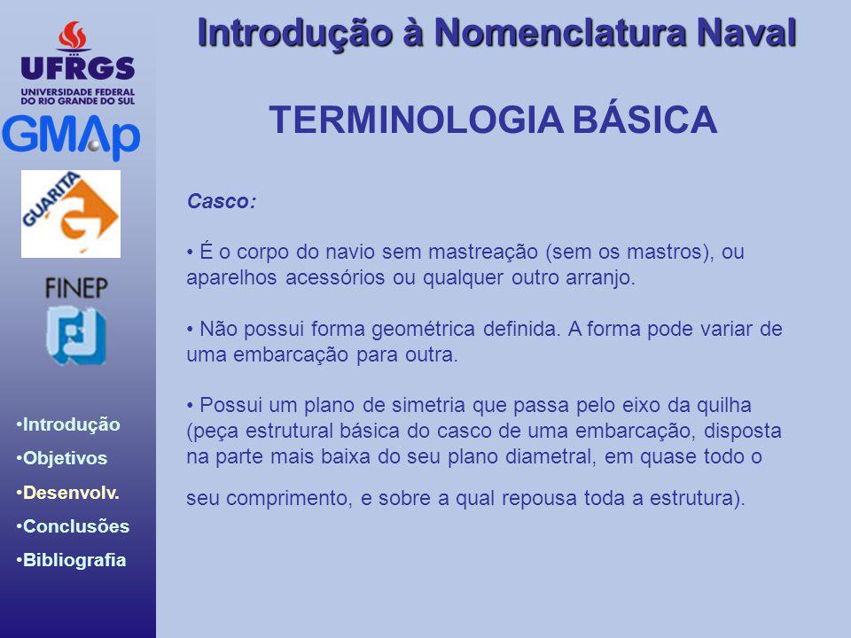 TERMINOLOGIA BÁSICA Casco: