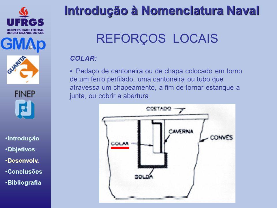 REFORÇOS LOCAIS COLAR: