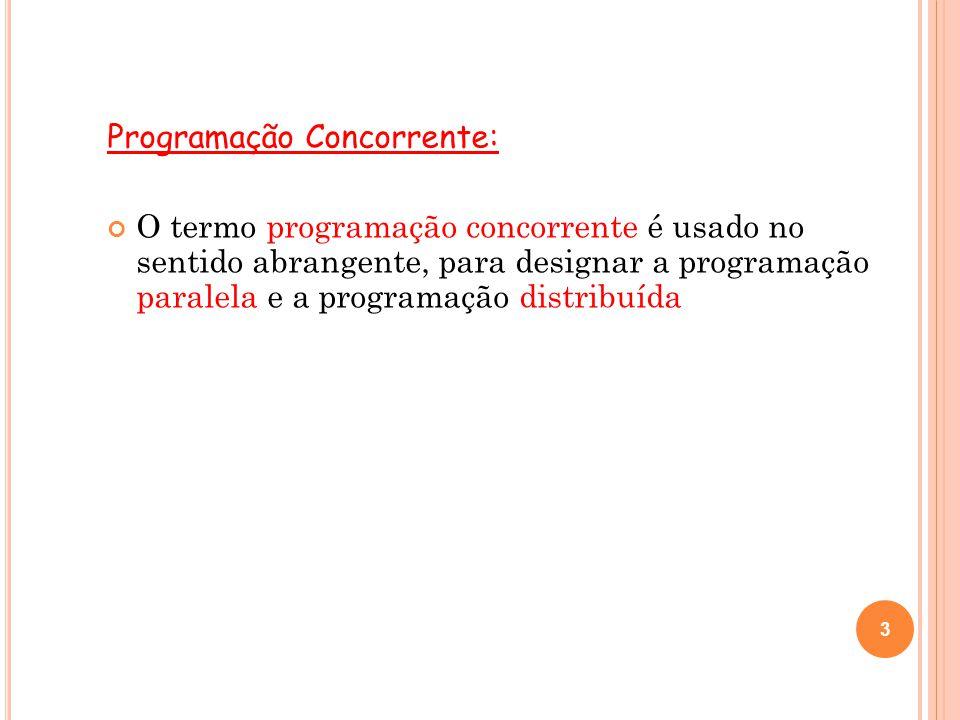Programação Concorrente: