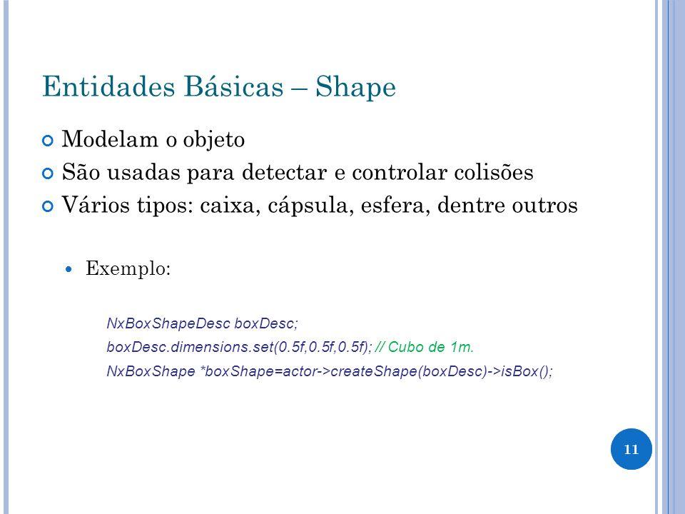 Entidades Básicas – Shape