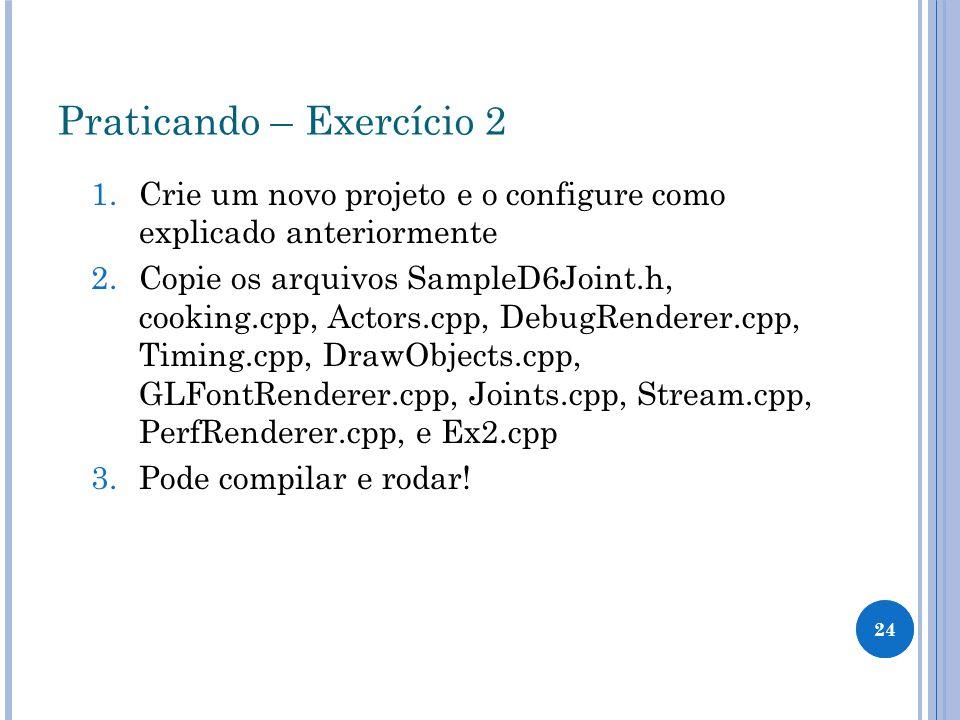 Praticando – Exercício 2