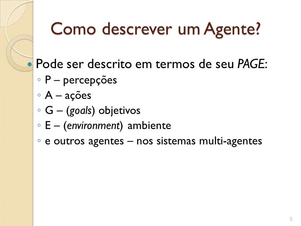Como descrever um Agente