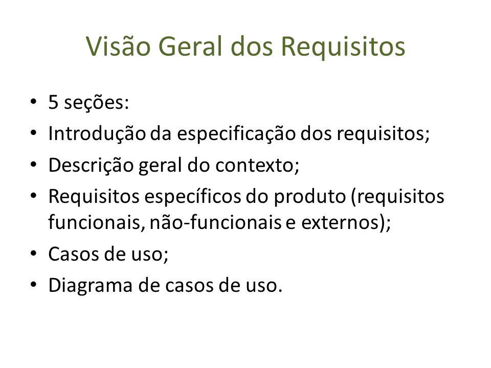 Visão Geral dos Requisitos