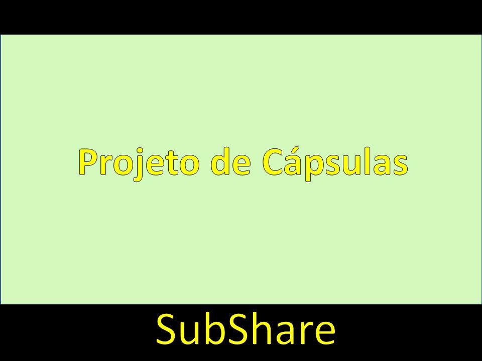 Introdução Projeto de Cápsulas SubShare
