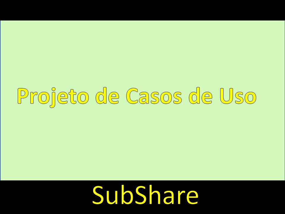 Introdução Projeto de Casos de Uso SubShare