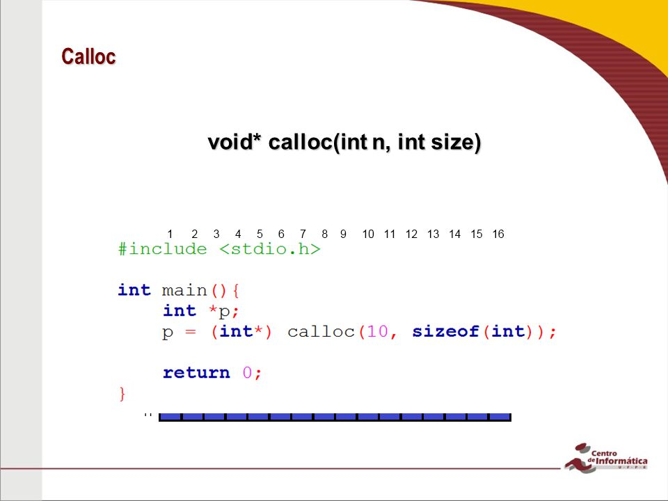 void* calloc(int n, int size)