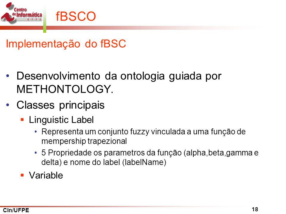 fBSCO Implementação do fBSC