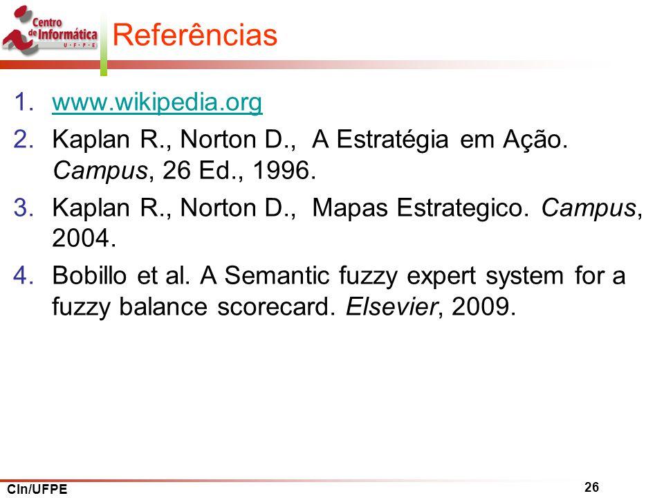 Referências www.wikipedia.org