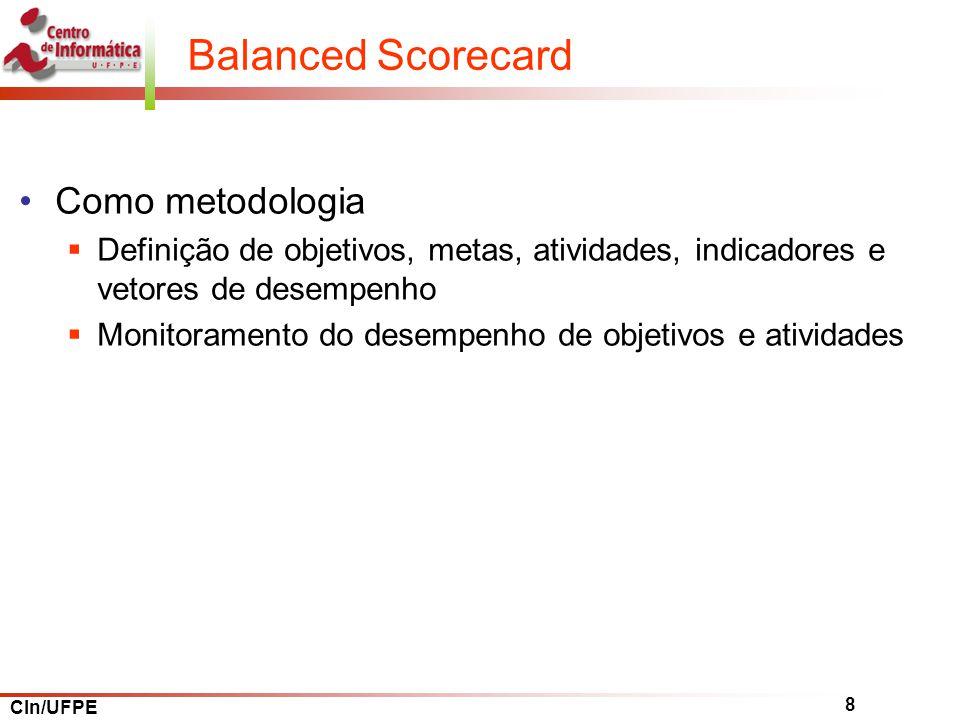 Balanced Scorecard Como metodologia