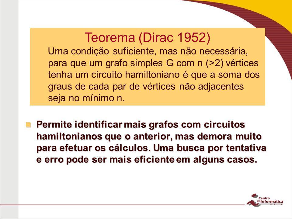 Teorema (Dirac 1952)