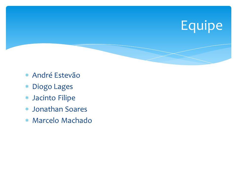 Equipe André Estevão Diogo Lages Jacinto Filipe Jonathan Soares