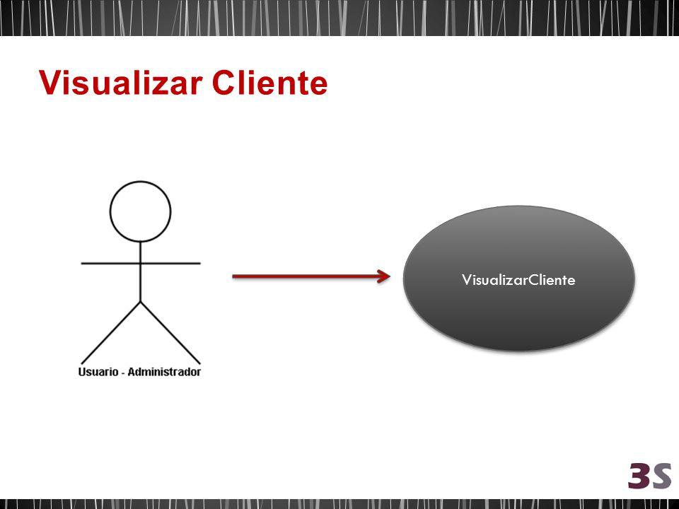 Visualizar Cliente VisualizarCliente