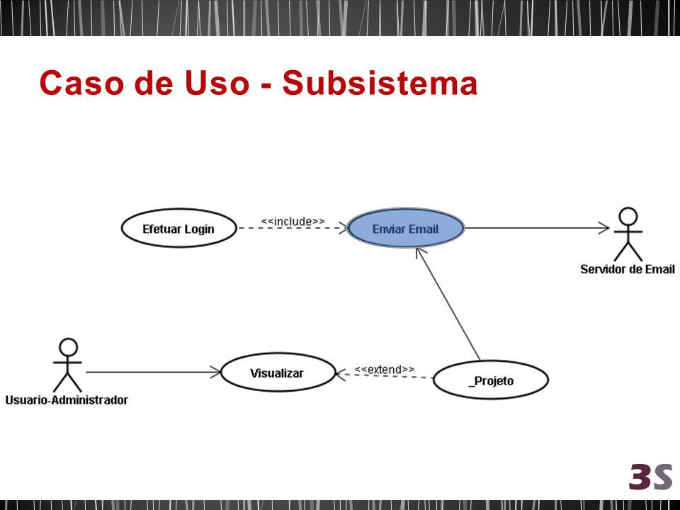 Caso de Uso - Subsistema