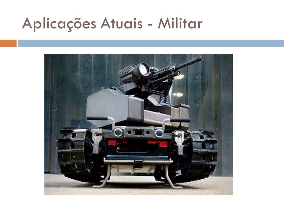 Aplicações Atuais - Militar