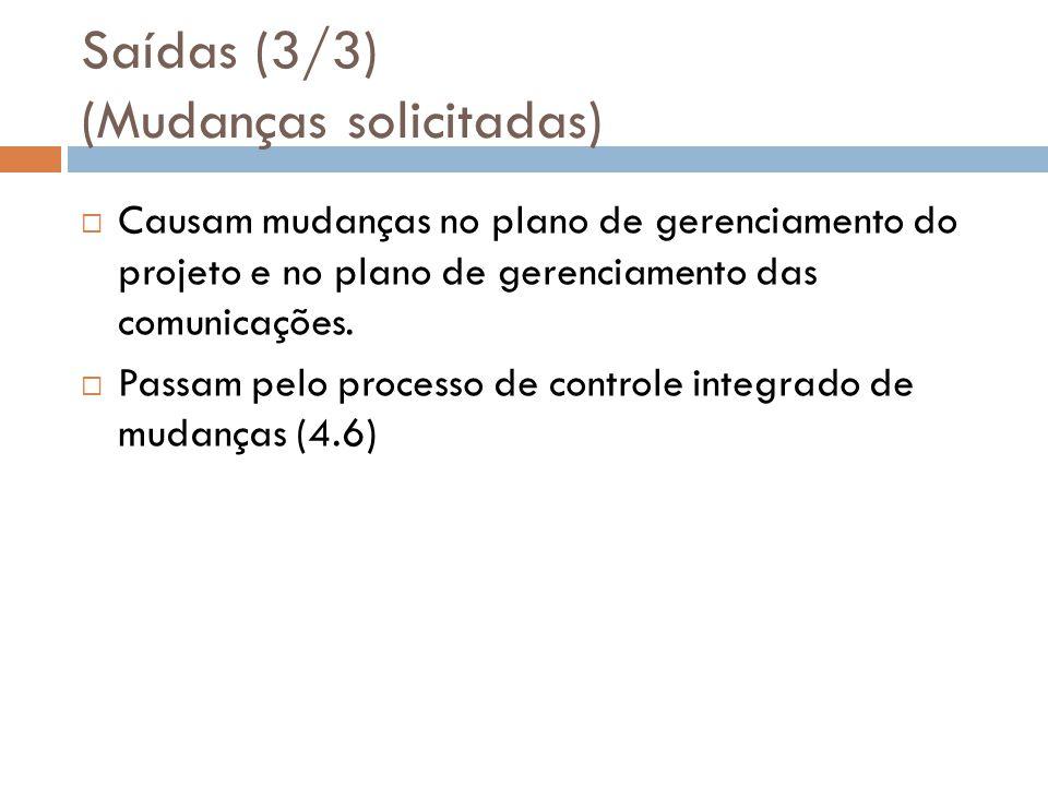 Saídas (3/3) (Mudanças solicitadas)