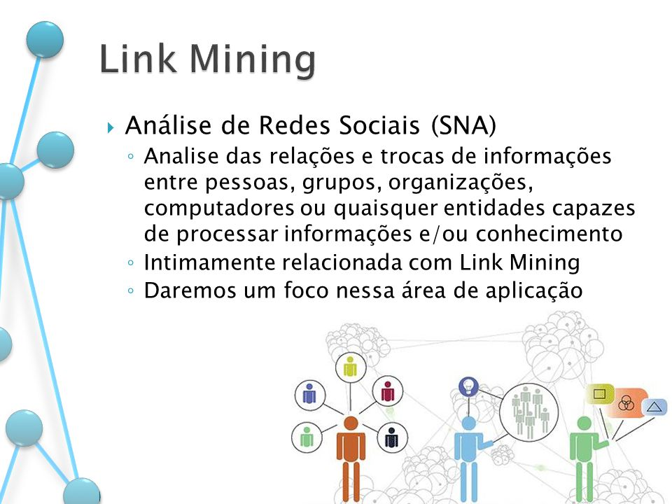 Link Mining Análise de Redes Sociais (SNA)