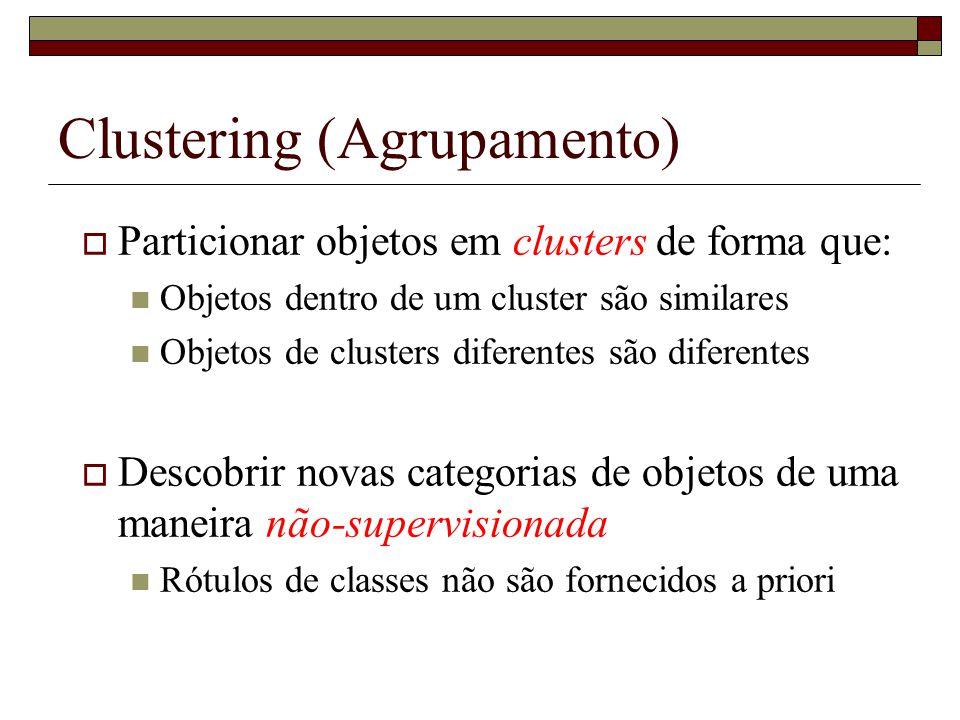 Clustering (Agrupamento)