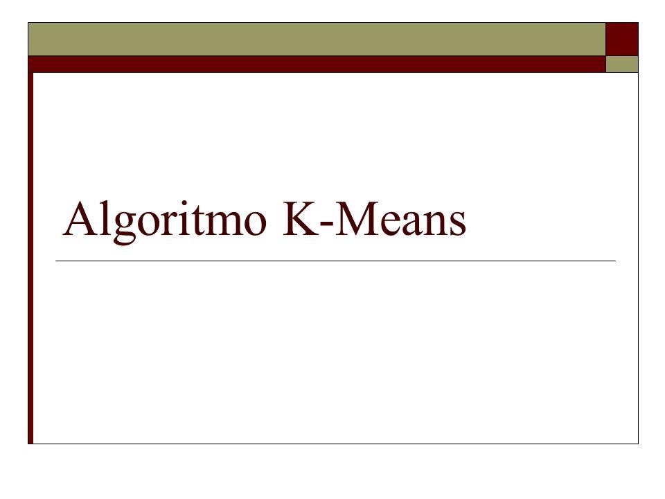 Algoritmo K-Means