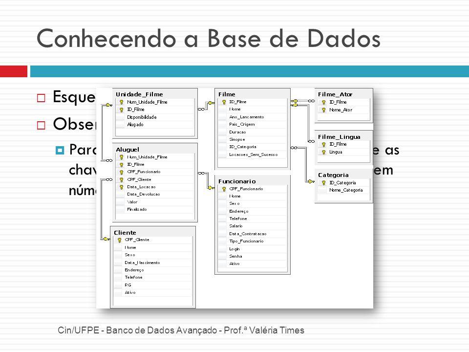 Conhecendo a Base de Dados
