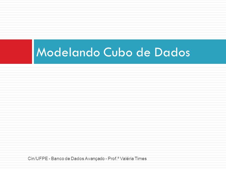 Modelando Cubo de Dados