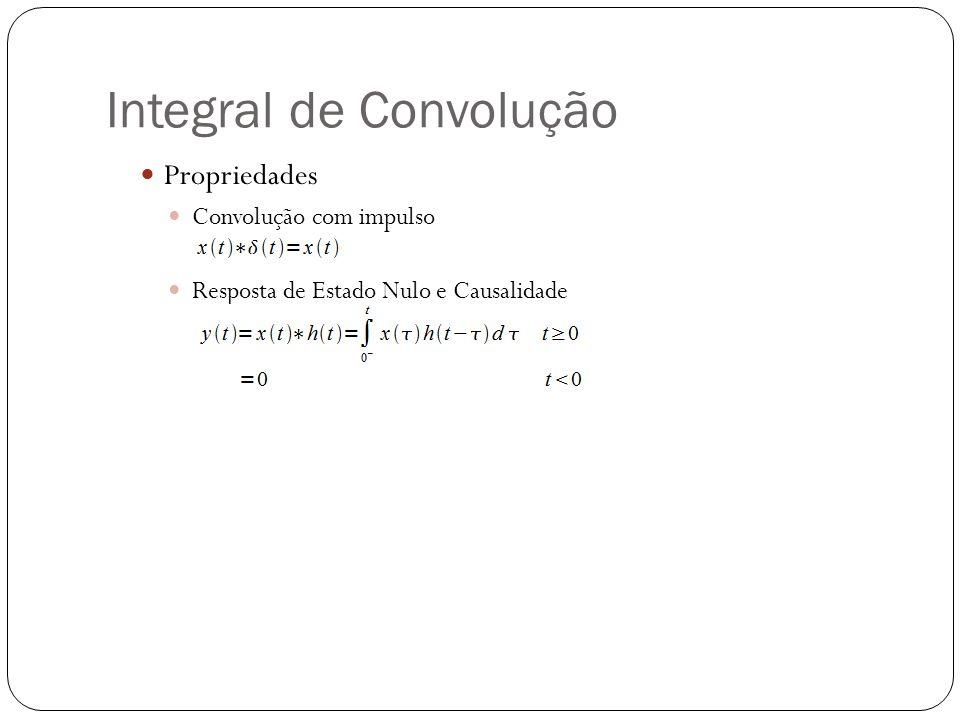 Integral de Convolução