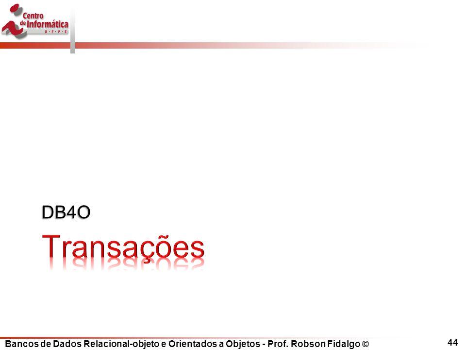 DB4O Transações