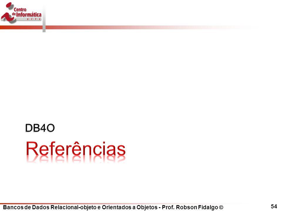 DB4O Referências