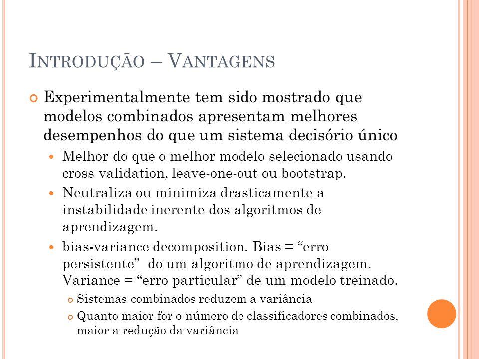 Introdução – Vantagens